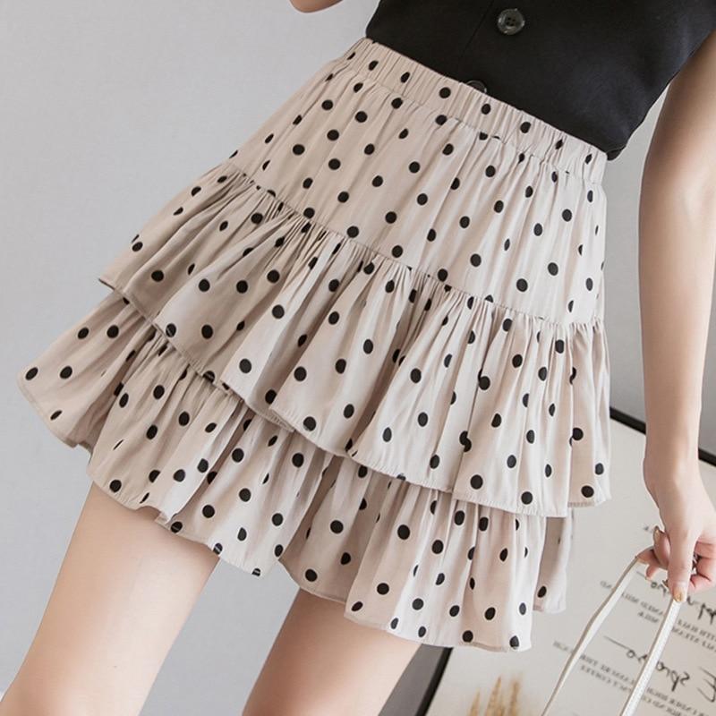 7b34aed0e5 New arrival 2019 summer skirts cake puffy flare skirt streetwear korean  cute skirt harajuku high waist skirt kawaii mini skirt