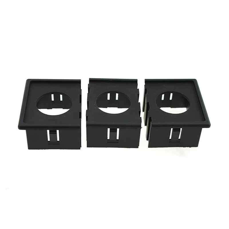12V/24V Cigarette Lighter Adapter & 3.1A USB Power Socket with 3pcs Housing Holder Panel for Car Boat Truck RV