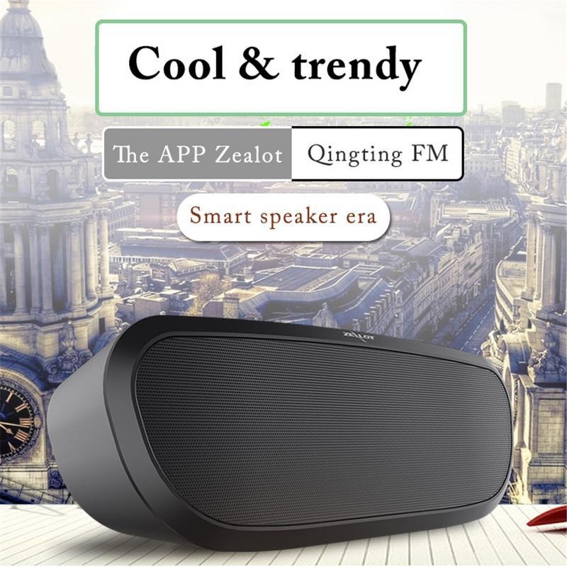 ZEALOT S9 Multi-Function Super Bass Stereo Dual-Loudspeaker Wireless Bluetooth 2.0 Speaker 11.11