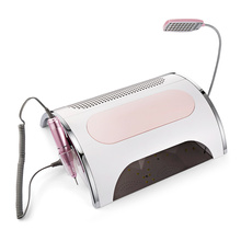 5 In 1 Multi-Function Electronic Nail Tools 36 LEDs + Built-In 3 Fans Infrared Sensor Manicure Dryer Machine Set