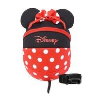 Disney Minnie Fashion School Bag Cute Harness Backpack Safety Harness Strap Package 1.2M Anti lost Outdoor Bag Baby Keeper