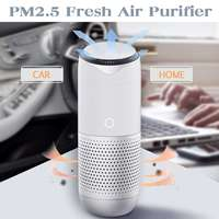 3 Modes USB Vehicle Air Purifier Car Home Fresh Air Cleaner Lonizer Oxygen Freshener Pm2.5 Formaldehyde Dust Smoke Eliminator