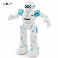 LEORY RC Robot Intelligent Programming Remote Control Robotica Toy Sing Gesture Dance Robot For Children Kids Birthday Gift