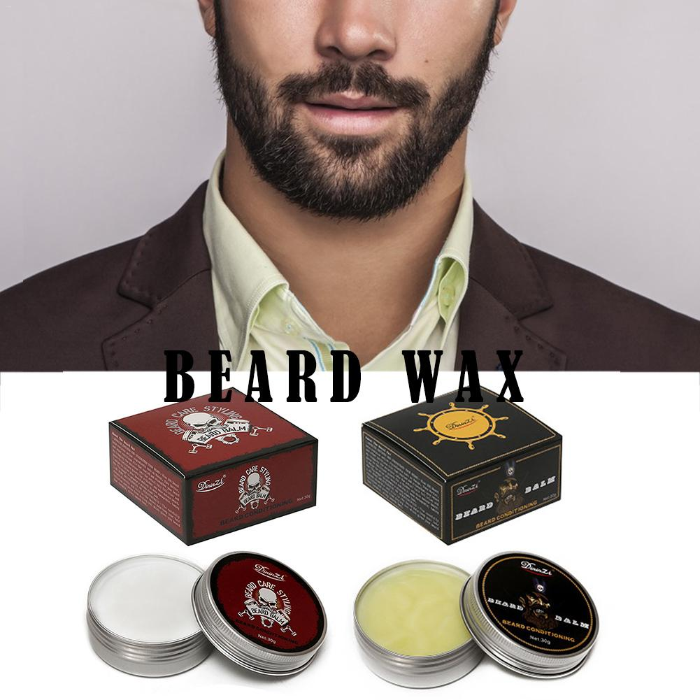 Natural Beard Balm Beard Conditioner Professional For Beard Growth Organic Mustache Wax For Beard Smooth Styling 55g Leave-in