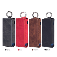 PU Portable Leather Case For IQOS 3 Cigarette Accessories Universal Carrying Scrub Protective Storage Cover Iqos