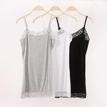 Summer Sexy Womens Lace Camisole Tank Tops New Casual Plus Size 2XL Sleeveless V Neck Shirts Adjustable Cami Long Layering Vest