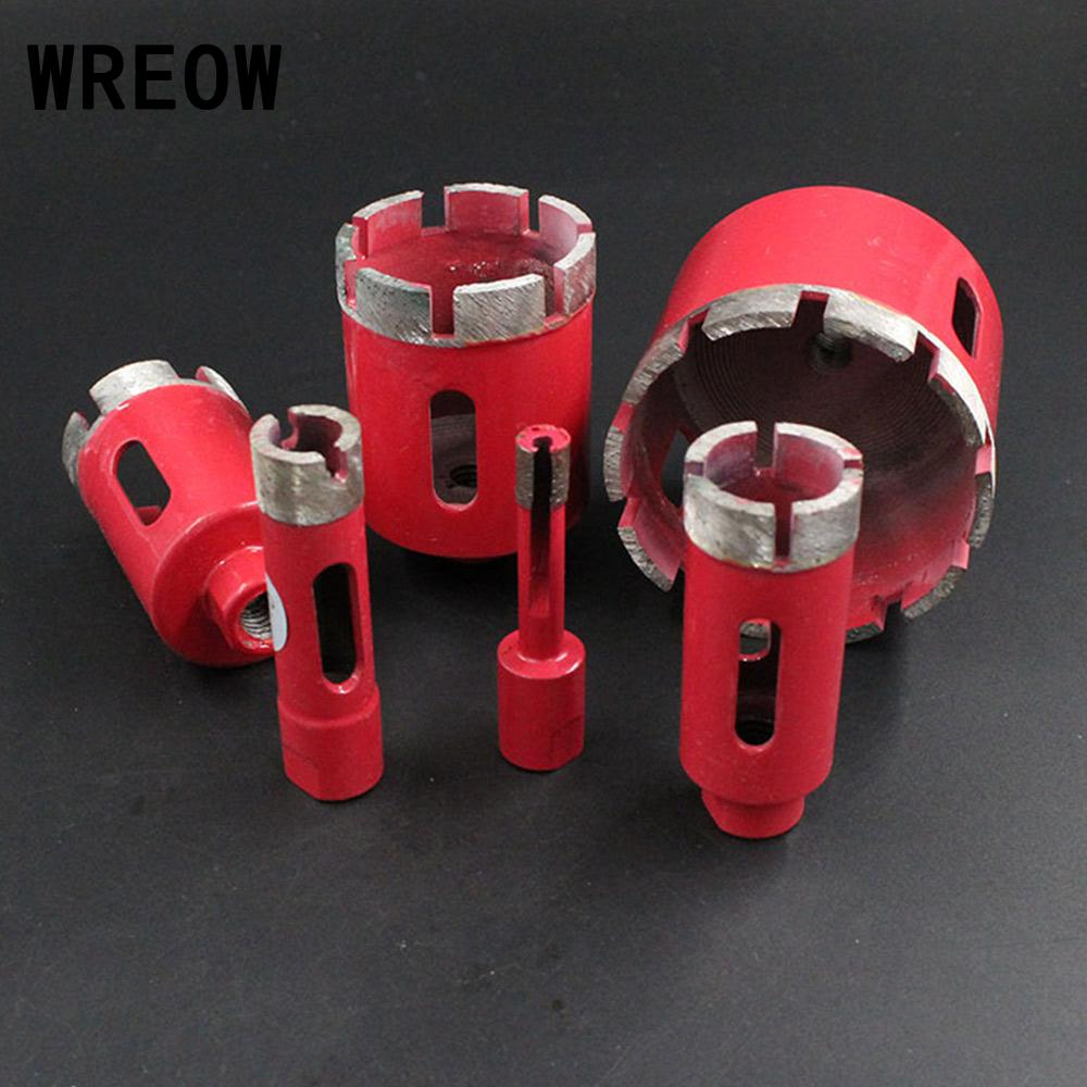 1pc 8/10mm Vacuum 6-75mm Brazed Diamond Drilling Core Bits With M10 Connection Drill Bits Diamond Height Hole Saw Connection