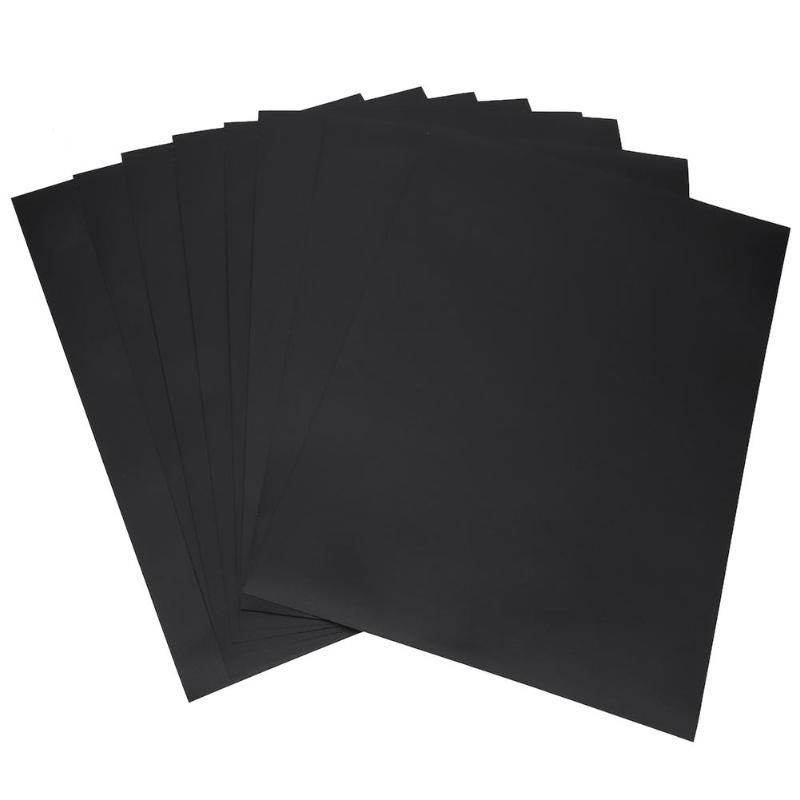 8Pcs 30*20cm Removable Blackboard Stickers Wall Decals Home Office Decorative Black Board Chalkboard Sticker Schook Supplies