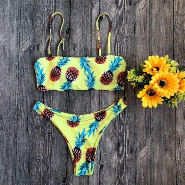 Фото купальник 2019 женский купальный костюм женское бандажное бикини