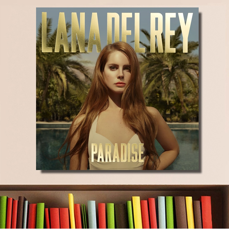 Lana Del Rey Paradise Music Album Cover Poster Print On Canvas Wall Art Home Decor No Frame Buy At The Price Of 7 42 In Aliexpress Com Imall Com