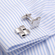 Top Quality Stylish Brass French Shirt Cufflinks Trendy Party Cuff link 2730 Sleeve Buttons for Men Wedding Cuffs Father's Gifts high quality movement tourbillon cuff links designer cufflinks stylish steampunk gear watch cuffs shirt sleeve buttons men