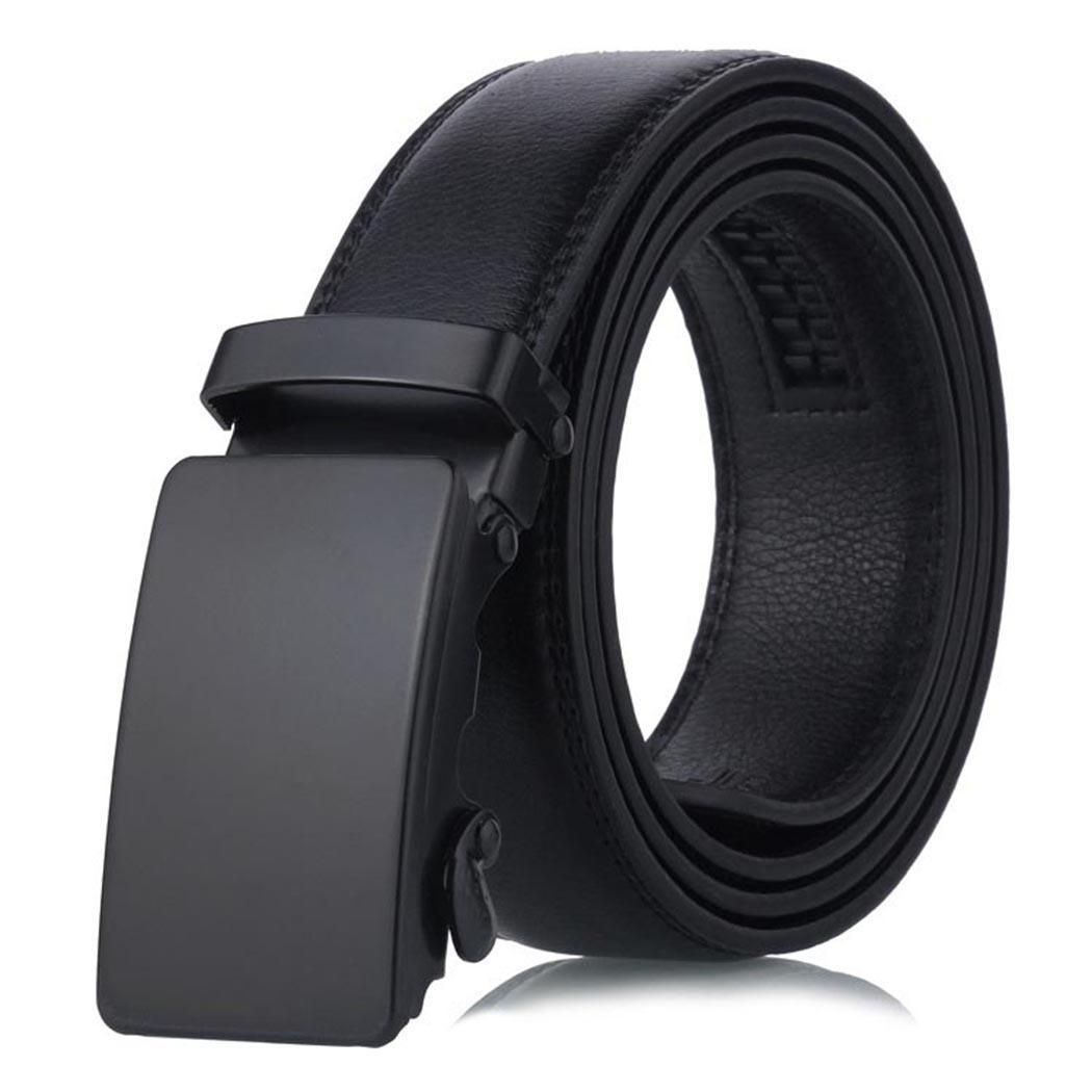 Fashion Men   Belt   Artificial Leather Waist   Belt   Automatic Buckle Casual   Belt   Drop Shipping