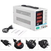 Alimentation électrique réglable 30V 10a, Mini régulateur de tension cc, entrée 220V 110V, affichage numérique Led, alimentation de laboratoire