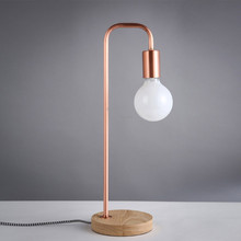 Modern led table lamps Bedroom bedside lamp Nordic Living room simple lighting home deco Restaurant fixtures Desk