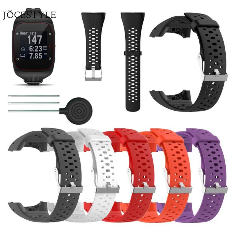 NEW Silicone Replacement Watch Band Bracelet Wrist Strap for Polar M400 M430 Sports Watch Adjustable Watch Band