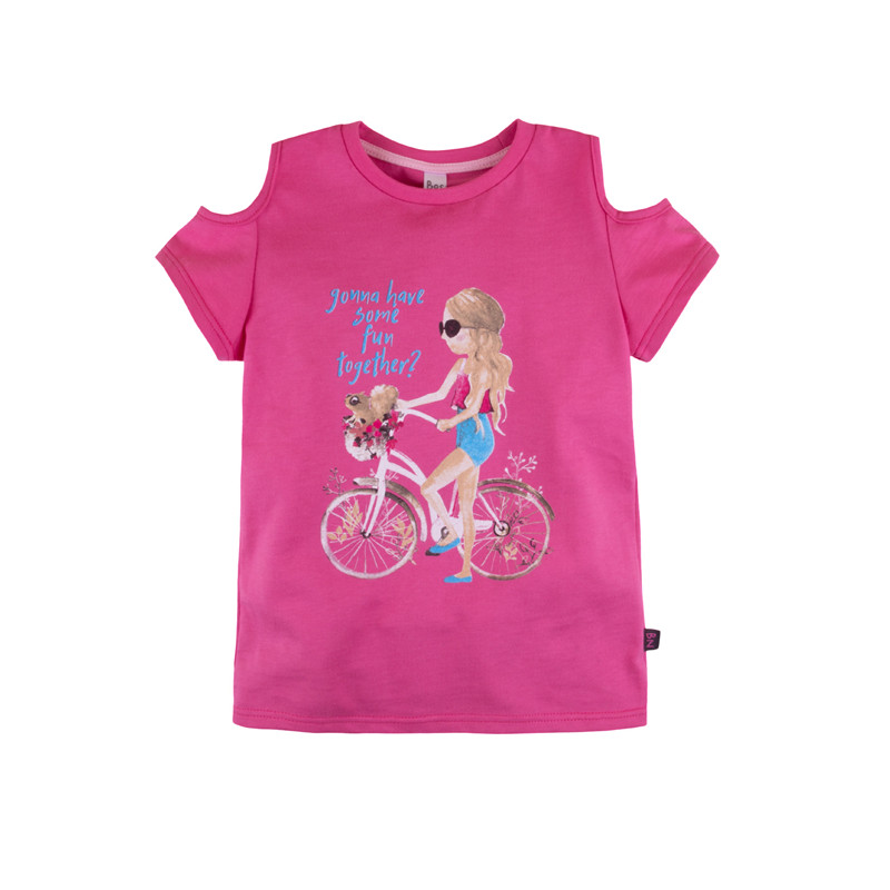 цена T-shirt for girls 'Alice' BOSSA NOVA 256B-161