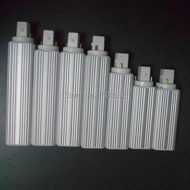 G24 Led G24d-1 G24d-3 G24d-3 AC85-265V Led Pl Bulb Lamp Real Power 5W 7W 9W 10W 11W 12W 13W 14W SMD5730 5050 2835 Downlight Bulb