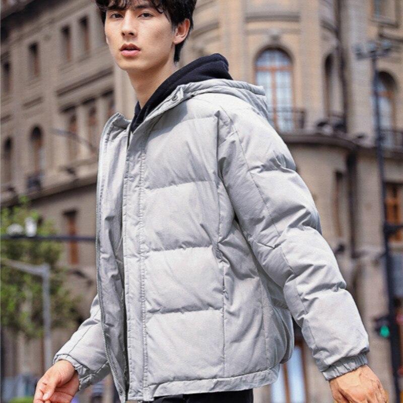 Winter Jacket Men Long   Parka   Coat Men Male Jacket Thick Outwear Loose Casual Hooded Down Jacket Waterproof Solid Fit Pockets Top