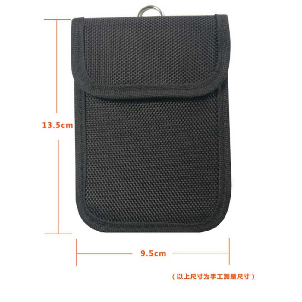 1 шт. сигнальный блок сумка анти-Отслеживание Противоугонный защитный чехол для ID Чехол для автомобильного ключа Fob сотовый телефон Кредитная карта