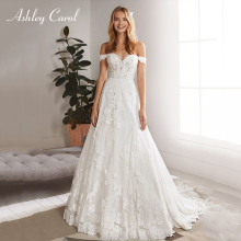 Ashley Carol A-Line Wedding Dress 2019 Sleeveless