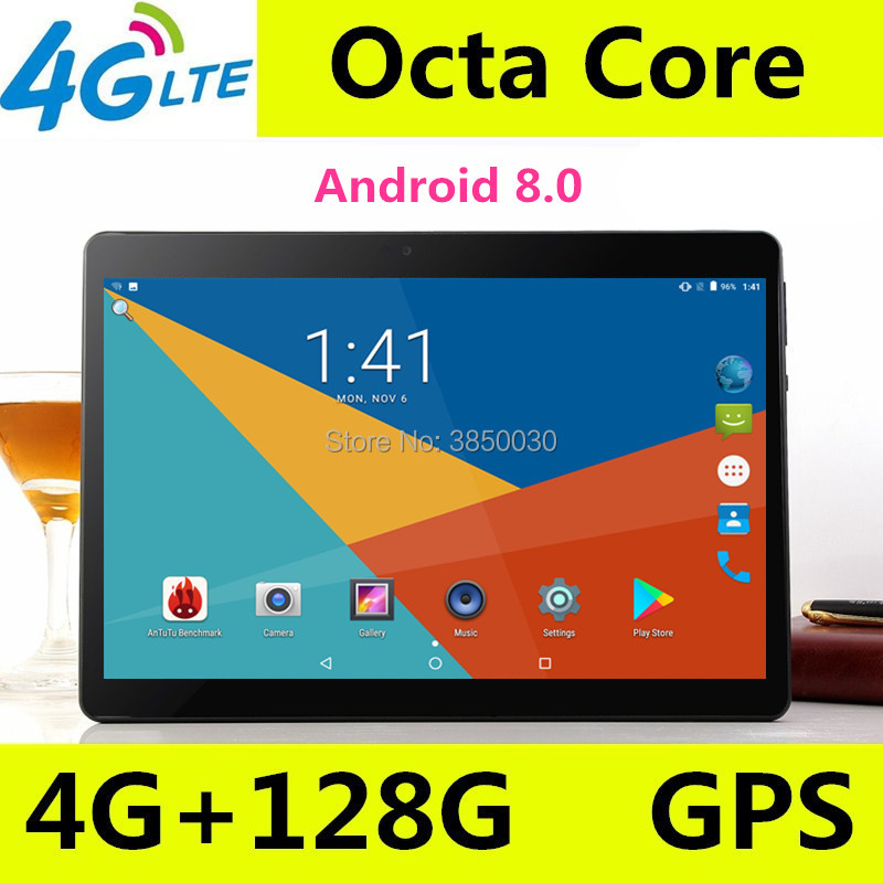 2019 New Google Play Android 8.0 OS 10 inch 3G 4G tablet Octa Core 4GB RAM 128GB