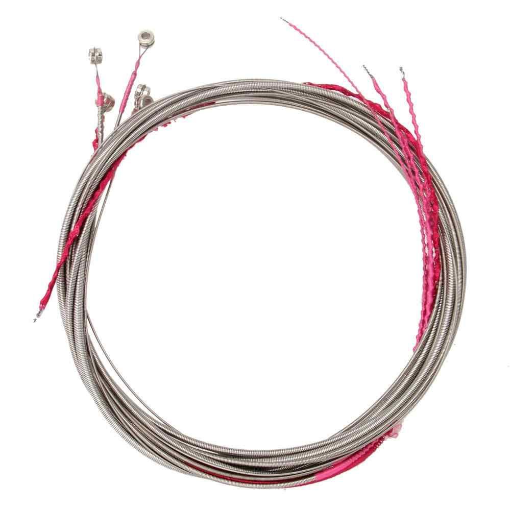 IRIN 5 шт./компл. электрические Струны для бас-гитары 1,2 м стальные струны 3/2. 5/2/1,4/1 мм гитарные струны для 5 струн бас-гитары