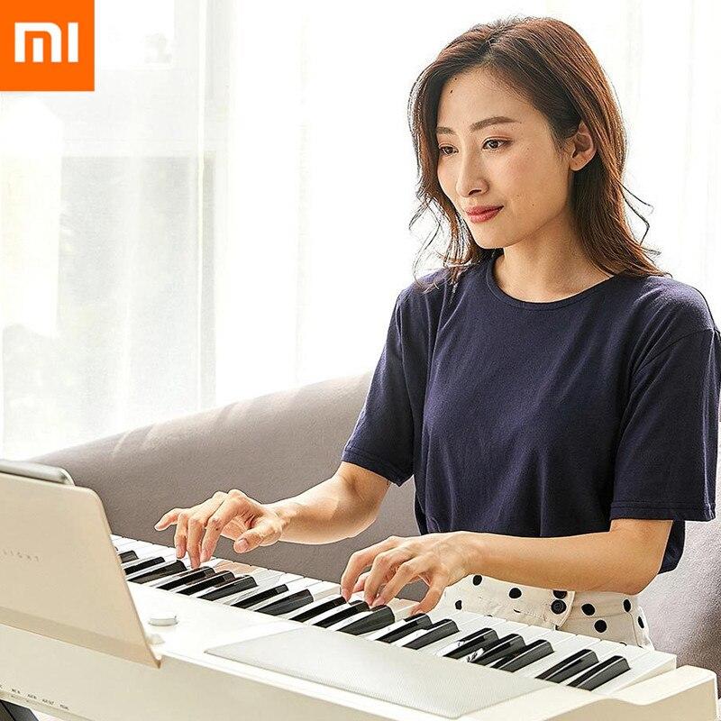 Nouveauté Xiaomi Youpin 61 touches AI vérifier intelligent électronique orgue clavier Piano soutien APP intelligent jouer éducation écouteur