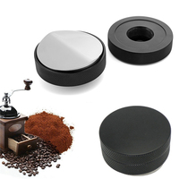 58.5mm Mini Adjustable Coffee Tamper Espresso Powder Hammer Convex Distributor Leveler Tampers Coffee Tools Kitchen Accessories