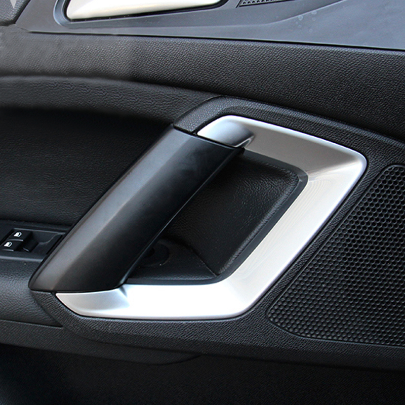 My Good Car Inner door <font><b>armrest</b></font> sequins inner <font><b>armrest</b></font> decorative frame Car styling for <font><b>peugeot</b></font> 308 308s <font><b>408</b></font> Car accessories image