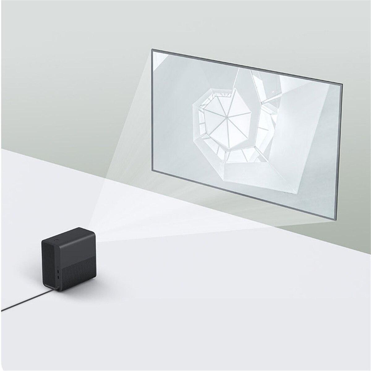 Xiao mi mi jia 3D android 6.0 Projector hd Dlp 3500 LUMEN wifi Bluetooth 4.1 mi projectie ondersteuning 4 K voor Home Theater