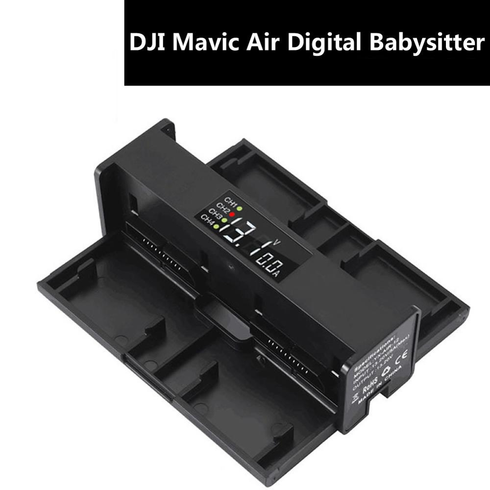 4 In 1 Charger For DJI Mavic Air Intelligent Flight Battery Charging Hub Parallel Charging Board Drone Battery Balance Manager