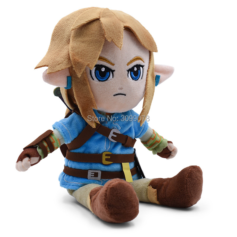 27CM Plush Toys Link Boy With Sword Soft Stuffed Doll For Kids 2