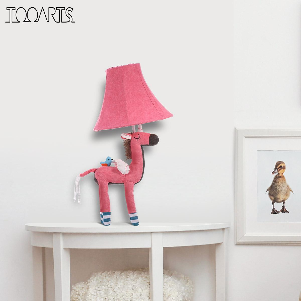 Pink Unicorn Table Lamp | Cotton Lamp for Children 2