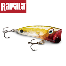 Rapala ULTRA LIGHT POP ULP04 4cm/3g Casting Fishing Lure Surface of the Water 3D Body With hooks Two No.10 Hard Bait  Fake Lure