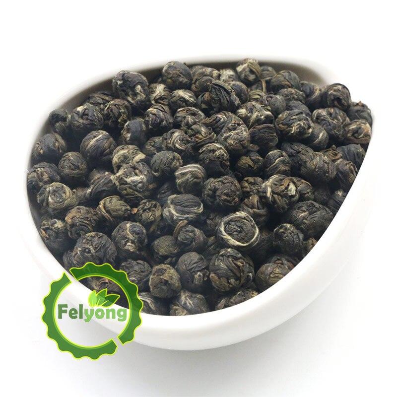 2019 Jahr China Organic Jasmine Blume Tee Aaaa Jasmin Blumen Perlen Natürliche Jasmin Dragon Balls Tee Ball Perle Grün Tee Mild And Mellow
