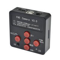 2019 New 1080P 2K 60FPS 36MP HDMI USB Industrial Electronic Digital Video Microscope Camera For Phone CPU PCB Repair
