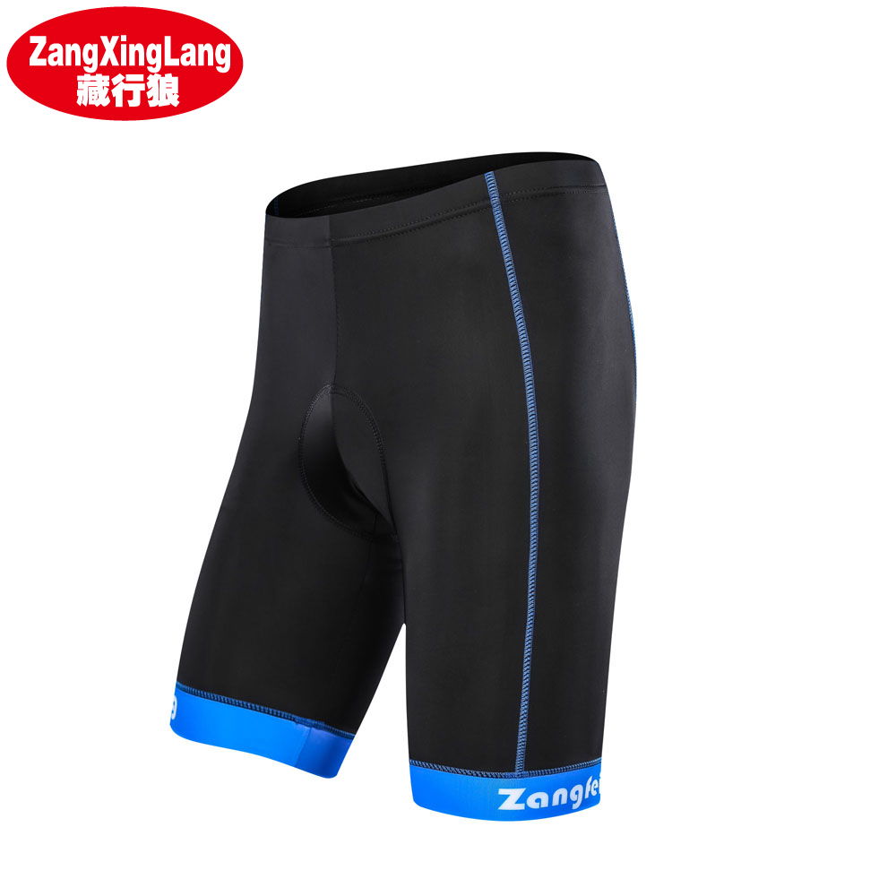 Zangxinglang Coolmax 5D Padded Cycling Shorts Shockproof MTB Men Women Bicycle Shorts Road Bike Shorts Ropa Ciclismo Tights