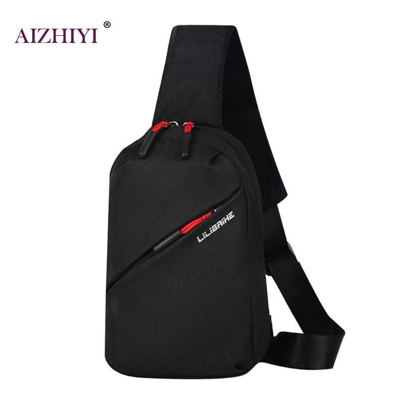 Mochila Unisex para el pecho, mochila para hombre, bandolera, bolsa de viaje deportiva para hombre, bolsa de la cintura 2019
