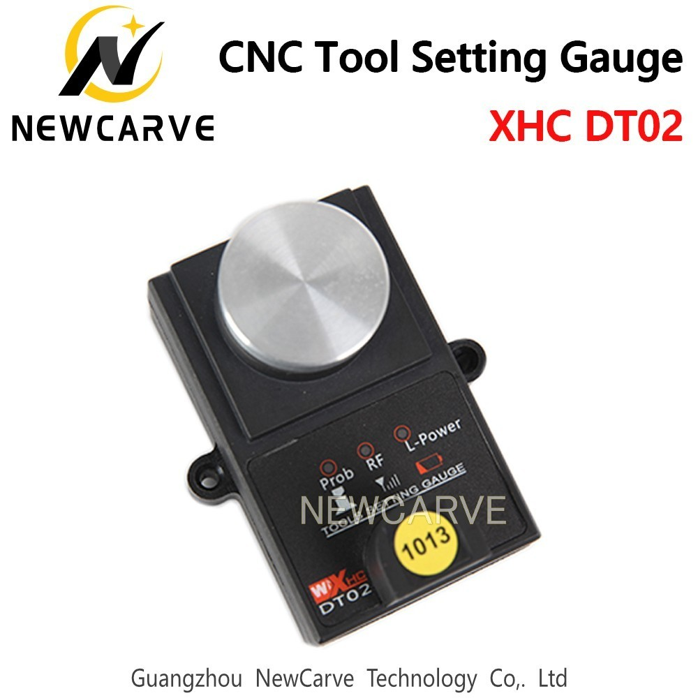 XHC High Accuracy Tool Settle Gauge Wireless CNC Router Machine Tool Setting Gauge Height Controller DT02 NEWCARVE
