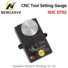 XHC High Accuracy Tool settle Gauge Wireless CNC Router machine Tool Setting Gauge Height Controller DT02 NEWCARVE with high speed and high accuracy akm6090 mini 3d cnc router for sale