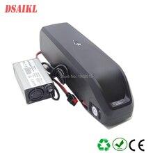 цена на USB hailong 52V 14Ah 750W 1000W fat tire ebike frame battery pack with 58.8V 2A charger