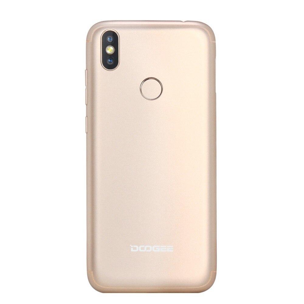 DOOGEE BL5500 Lite 2 GB 16 GB teléfono inteligente 6,19 MTK6739 Quad Core Android 8,1 13.0MP 5500 mAh huella dactilar Dual SIM del teléfono móvil - 6