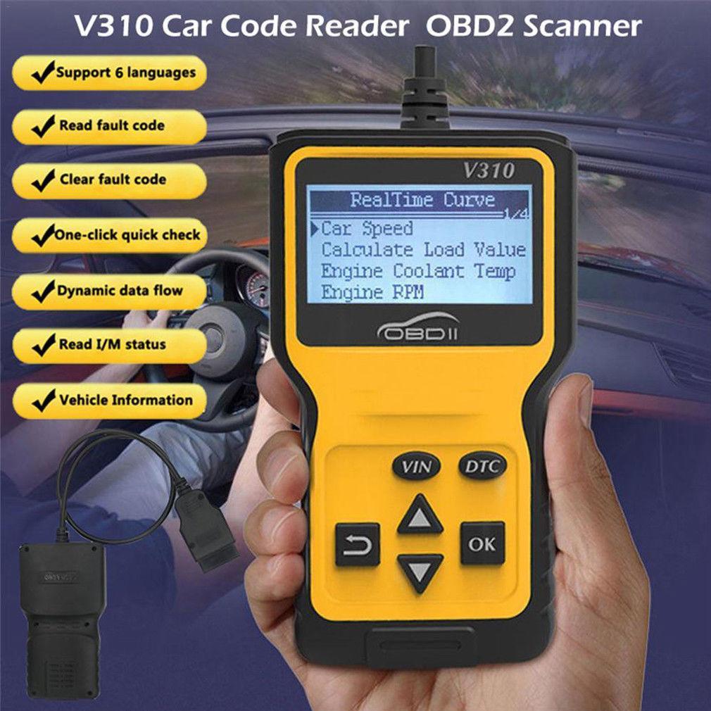 Auto Fehler Code Reader Motor Überprüfen V310 OBD2 Scanner Diagnose Werkzeug Foxwell UK