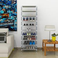 10 Shelf Storage Home Stand Picture Organizer Casual New Dormitory Sturdy Hot Rack etc Easy Tiers Assembled Office Shoe