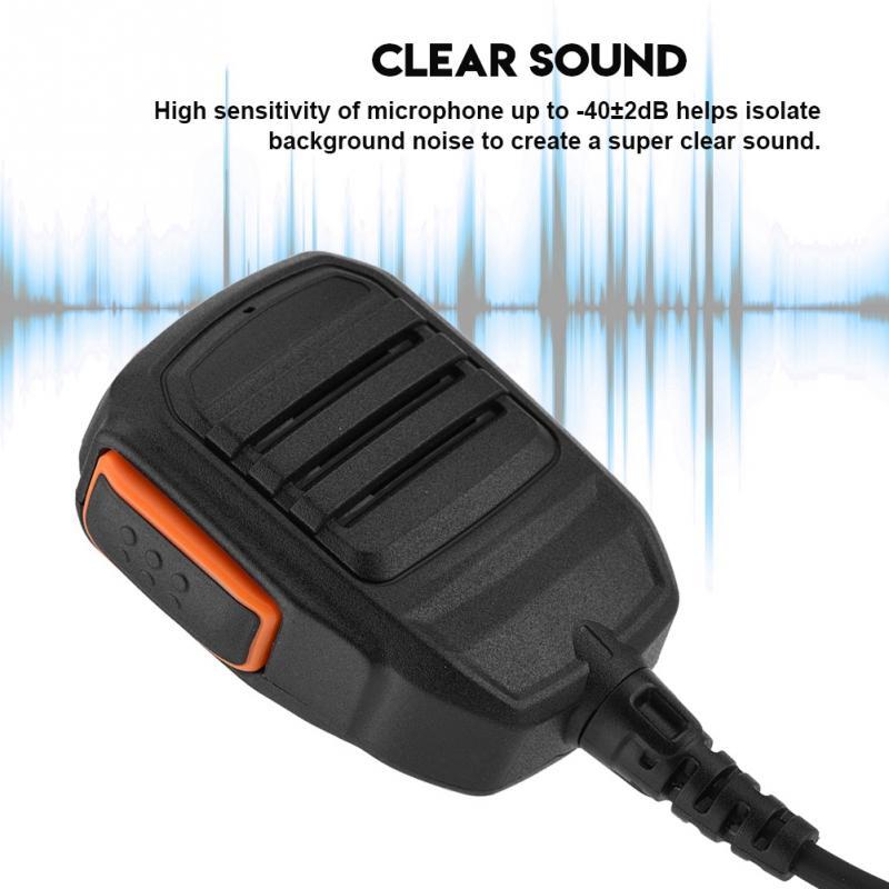 Speaker Microphone Walkie-Talkie Two-Way-Radio-Accessories Cb-Radio Emergency-Alarm Hytera