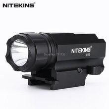 NITEKING G102 LED gun Tactical Gun Flashlight Torch 1600LM CREE-XP-G R5 2 Modes LED Flash Light Lanterna with scope Mount
