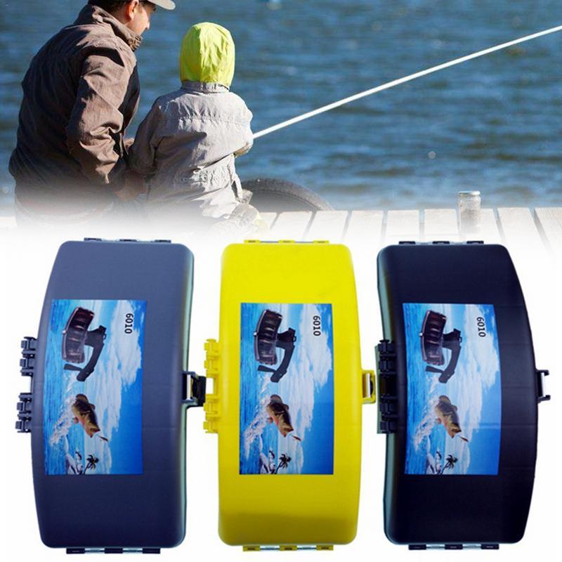 Fishing Bait Case Bag Accessory Portable Folding Fishing Waist Belt Bait Box Fishing Gear Storage Case Quality Tools Bag