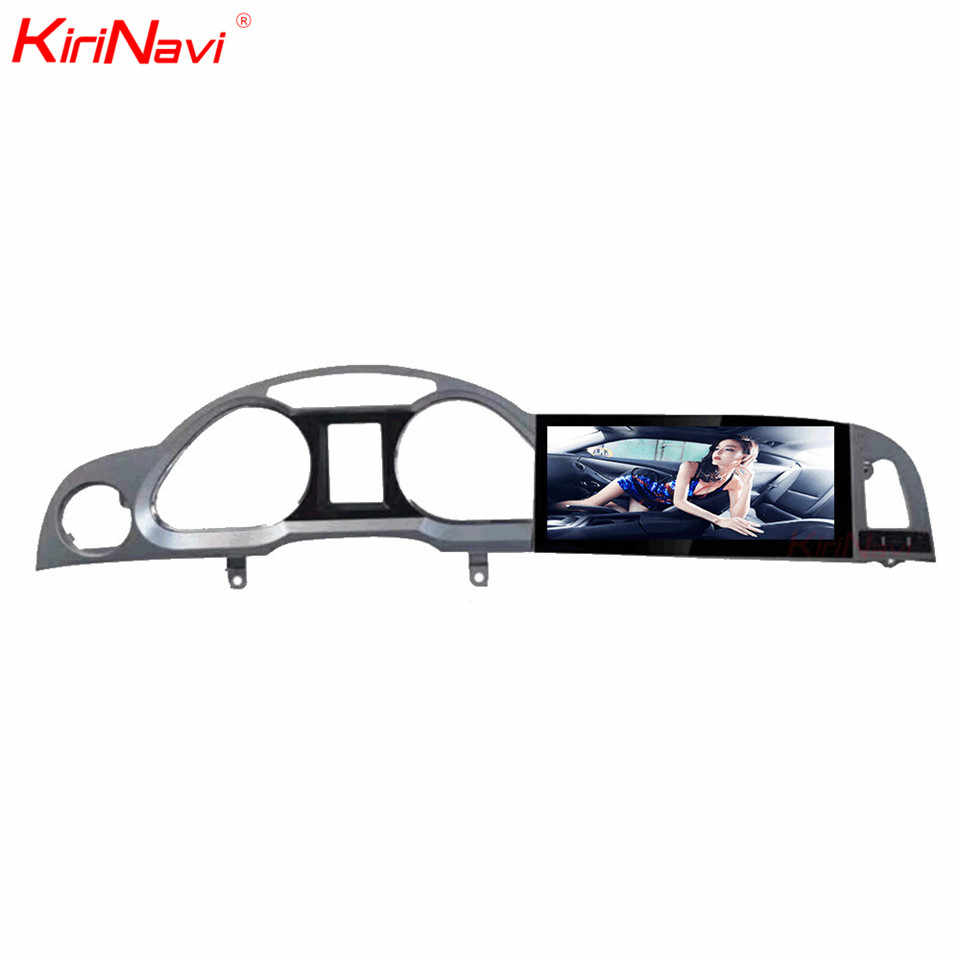 "KiriNavi 10.25 ""アンドロイド 7.1 カーマルチメディアアウディ A6 A6L 車の DVD プレーヤーの Bluetooth GPS ラジオステレオ WIFI 4 グラム 2005-2016"