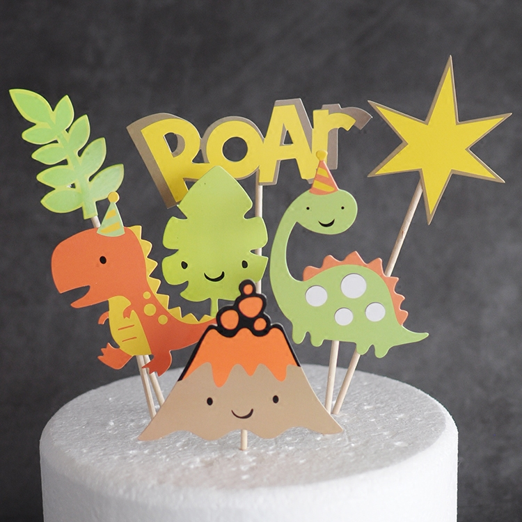 Detail Feedback Questions About Dinosaur Jurassic Park Themed Party Cake Topper Toppers For Boys Birthday Jungle