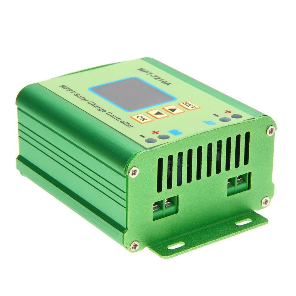 LCD MPPT Solar Regulator Charge Controller 24/36/48/60/72V 10A 60V DC-DC цены онлайн